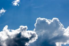 Beauty clouds and blue sky Royalty Free Stock Images