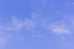 Beauty Clouds in blue sky background Royalty Free Stock Photo