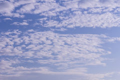 Beauty Clouds with blue sky background Stock Photography