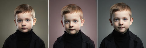 Beauty collage.school boy.Funny child. Beauty collage.school boy. Fashion photo. Funny child stock photography