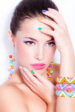 Beauty in color Stock Image