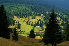 Beauty colors. The freedom of colors in Bucovina, Romania Royalty Free Stock Photo