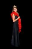 Beauty contest winner Royalty Free Stock Photos