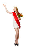 Beauty contest winner Royalty Free Stock Image