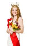 Beauty contest winner Stock Photos