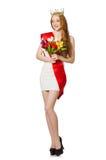 Beauty contest winner Royalty Free Stock Photo