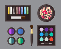 Beauty cosmetic icons Royalty Free Stock Image