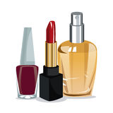 Beauty cosmetics for wo. Vector illustration eps 10 Stock Photography