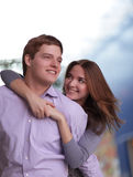 Beauty couple stock photo
