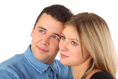 Beauty couple Stock Photography