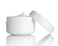 Beauty cream container Royalty Free Stock Photo