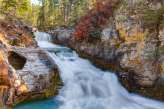 Beauty Creek Falls Royalty Free Stock Images