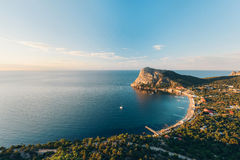 Beauty of Crimea. Nature of reserve New World in Crimea, Ukraine royalty free stock photography