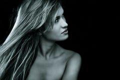 Beauty in dark Royalty Free Stock Photography