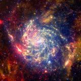 Beauty of deep space. Elements of this image furnished by NASA. Beauty of deep space. Billions of galaxies in the universe. Elements of this image furnished by royalty free stock image
