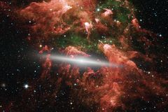 Beauty deep space. Science fiction fantasy ideal for wallpaper stock photo