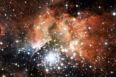 Beauty deep space. Science fiction fantasy ideal for wallpaper. Beauty deep space. Science fiction fantasy in high resolution ideal for wallpaper . Elements of royalty free stock photo
