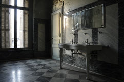 Beauty of Dereliction. Image of an abandoned house stock photography