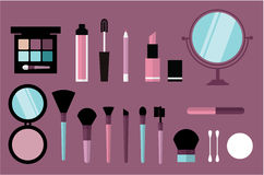 Beauty desk header Royalty Free Stock Image