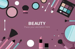 Beauty  desk header Stock Photos