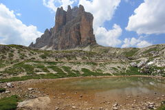 Beauty of Dolomites Royalty Free Stock Photos