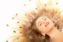 The beauty in dreams Royalty Free Stock Photography
