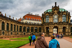 Beauty of Dresden, Germany royalty free stock images