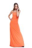 Beauty in dress. Stock Photo