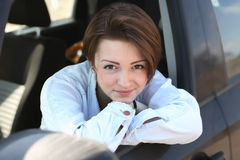 Beauty Driver Royalty Free Stock Photo