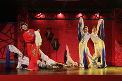 Beauty and the dynamic 1. China henan tourism arts and performance Stock Image