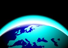 Beauty  earth graphic Royalty Free Stock Photo
