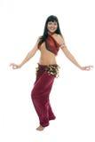 Beauty Eastern woman dancing Royalty Free Stock Image