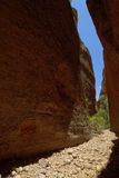 Beauty of Echidna Chasm Stock Images