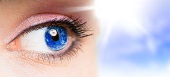 Beauty eye Stock Photos