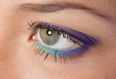 Beauty eye Stock Photo