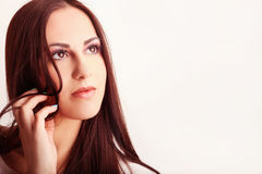 Beauty eyelashes Royalty Free Stock Photo