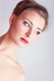 Beauty eyelashes Stock Images