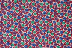 Beauty fabric with roses Stock Image
