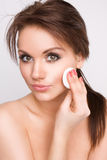 Beauty face Stock Photography