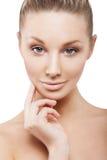 Beauty face of beautiful woman Royalty Free Stock Photo