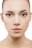 Beauty face of beautiful woman Stock Image