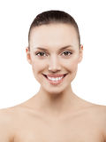 Beauty face of beautiful woman Royalty Free Stock Image
