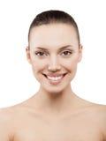 Beauty face of beautiful woman Royalty Free Stock Image
