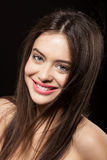 Beauty face of beautiful woman Royalty Free Stock Photos