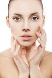 Beauty face of beautiful woman Stock Photo