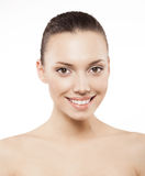 Beauty face of beautiful woman Royalty Free Stock Photography