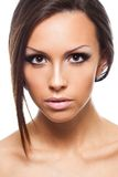 Beauty face portrait Royalty Free Stock Photography