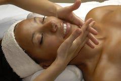 Beauty face treatment. Stock Photos