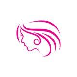 Beauty Face Vector Template Stock Photo