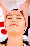 Beauty facial massage Royalty Free Stock Photo